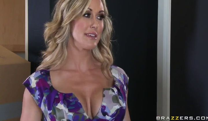 Brandi Love In Her House And Young Kairan Lee